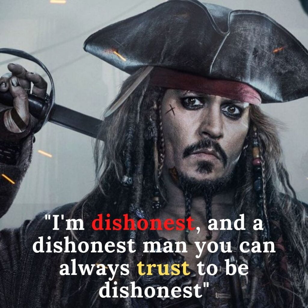 Quotes for Instagram from the famous man Jack Sparrow itself