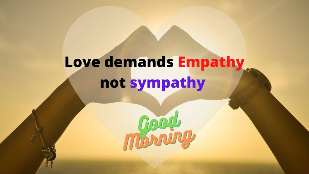 Good Morning thoughts for love of your life
