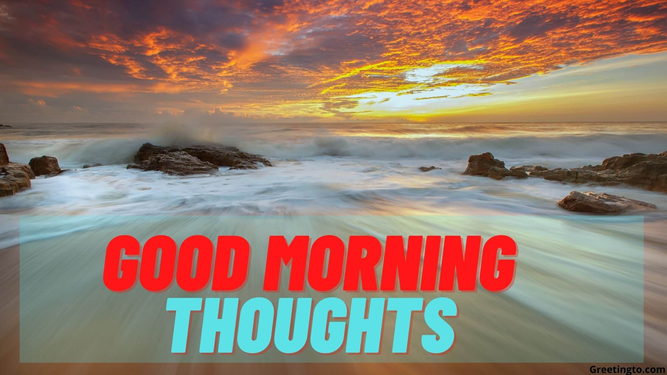 Good morning thoughts featured photo for the day