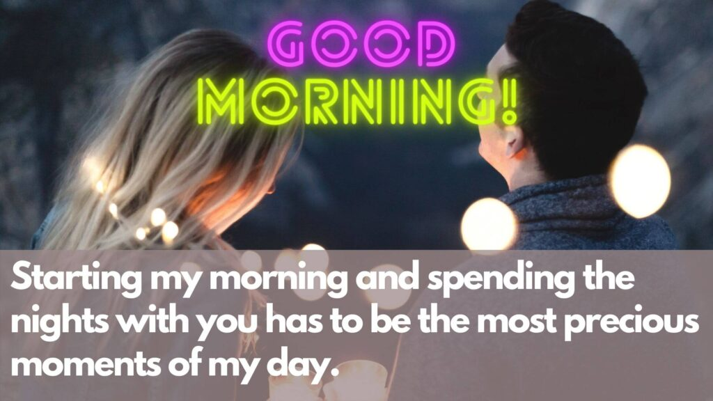 Good Morning for lover Quotes