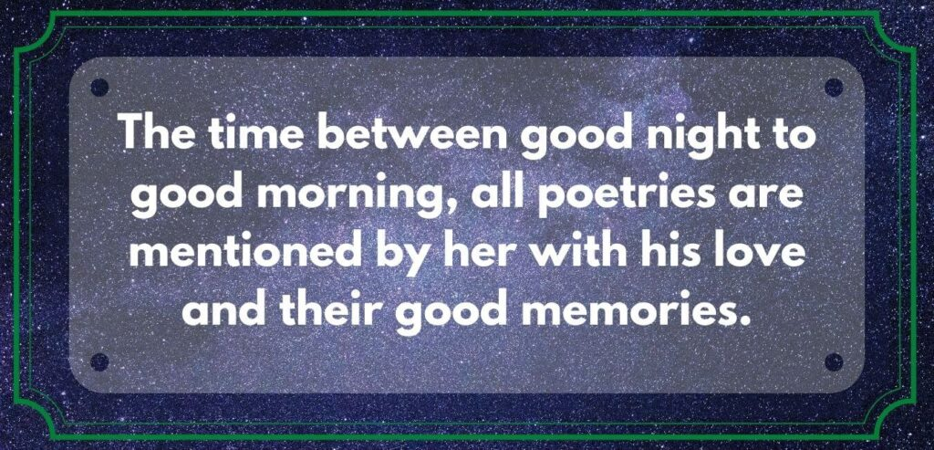 Good Night quotes of love