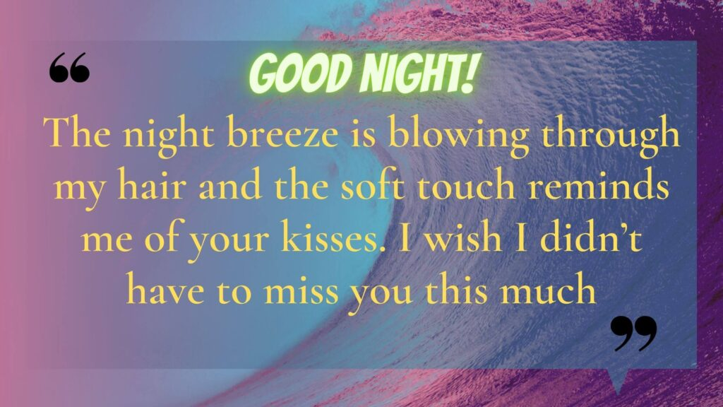 Love Quotes about Good Night