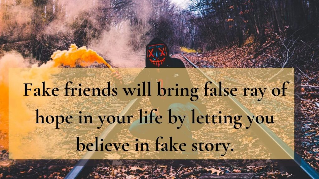 Fake People Quotes in English