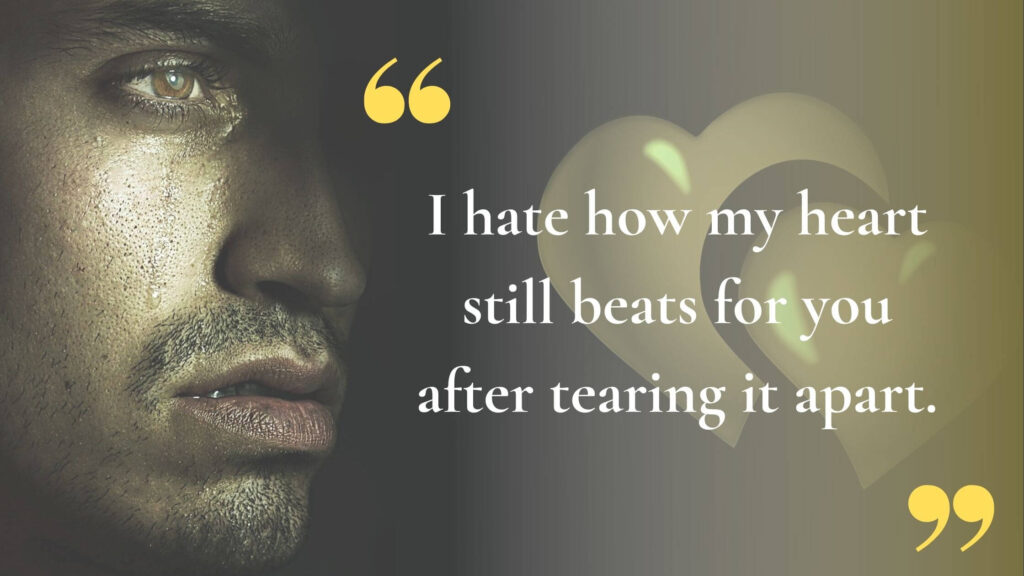 You hurt me Quotes