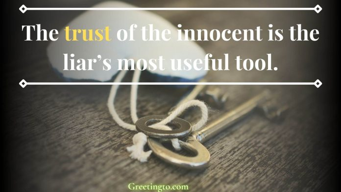 Trust Issue Sayings